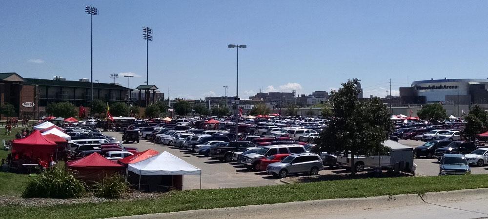 Husker Football Parking